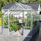 Vitavia Cassandra 9900 Växthus På Mur 9,9m² (Aluminium/Glas)