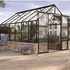 Vitavia Cassandra 11500 Växthus På Mur 11,5kvm (Svart/Glas)