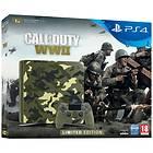 Sony PlayStation 4 Slim 1TB (ml. Call of Duty: WWII) - Limited Edition