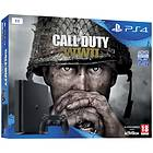 Sony PlayStation 4 Slim 1TB (ml. Call of Duty: WWII)