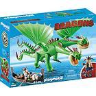 Playmobil Dragons 9458 Ruffnutt and Tuffnutt Barf and Belch