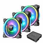 Thermaltake Riing Trio 12 RGB PWM 120mm LED TT Premium Edition 3-pack