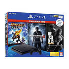 Sony PlayStation 4 Slim 1To (+ Ratchet & Clank + Uncharted 4 + TLOU)