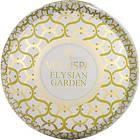 Voluspa Maison Metallo 2 Wick Candle Elysian Garden