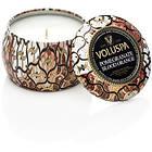 Voluspa Petite Decorative Tin Candle Pomegranate Blood Orange