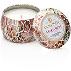Voluspa Petite Decorative Tin Candle Macaron