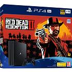 Sony PlayStation 4 (PS4) Pro 1TB (inkl. Red Dead Redemption 2)