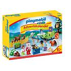 Playmobil 1.2.3 9391 Jul I Djurens skog Adventskalender 2018