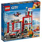 LEGO City 60215 Brandstation