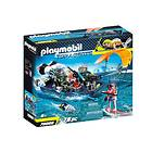 Playmobil Top Agents 70006 TEAM S.H.A.R.K. Harpoon Craft