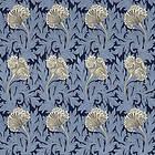 Morris & Co. Tulip Indigo Linen (224460)