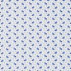Morris & Co. Swans Delft Blue (224479)