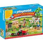 Playmobil Bondgården 70189 Julekalender 2019