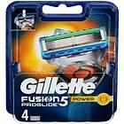 Gillette Fusion5 ProGlide Power 4-pack
