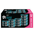 Tommee Tippee Sangenic Twist & Click Blöjhink Refill 12-pack