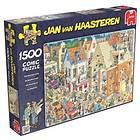 Jan Van Haasteren Pussel The Building Site 1500 Bitar
