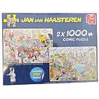 Jan Van Haasteren Pussel Foodfrenzy 2x1000 Bitar