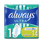 Always Ultra Normal Wings (14-pack)