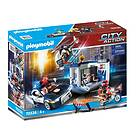 Playmobil City Action 70326 Police Station With Helicopter and Car