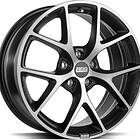 BBS SR Volcano Grey Diamond Cut 8x18 5/100 ET48 CB70.0