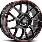 BBS xR Black Red 8.5x20 5/108 ET40 CB70