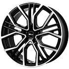 Brock Wheels B41 Black Full Polish 8.5x19 5/112 ET20 CB66.6