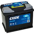 Exide Excell EB620 62Ah