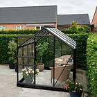 Halls Popular Växthus 5m² (Aluminium/Glas)