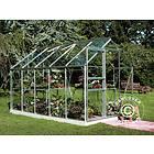 Halls Popular Växthus 6,2m² (Aluminium/Glas)