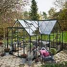 Halls Garden Room Växthus 12,9m² (Glas)