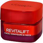 L'Oreal Revitalift Face Contours & Neck Re-Support Cream 50ml