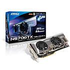 MSI GeForce N570GTX Twin Frozr II/OC 1280MB