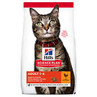 Hills Feline Science Plan Adult Optimal Care Chicken 10kg