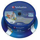Verbatim BD-R 25GB 6x 25-pack Spindel Wide Printable
