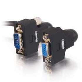 C2G VGA - VGA (UXGA) (Swivel) 270° M-F 0.5m