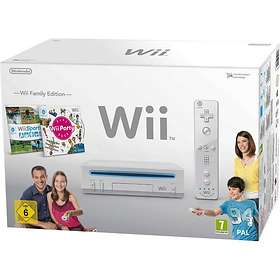 Nintendo Wii (+ Wii Sports + Wii Party) - Family Edition