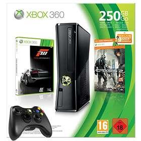 Microsoft Xbox 360 Slim 250Go (+ Forza 3 + Crysis 2)