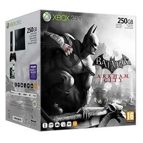 Microsoft Xbox 360 Slim 250Go (+ Batman Arkham City)