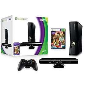 Microsoft Xbox 360 Slim 4GB (inkl. Kinect + Kinect Adventures)