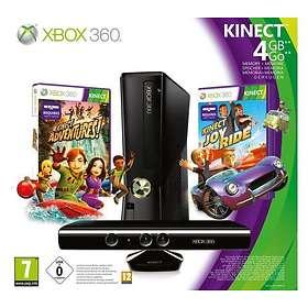 Microsoft Xbox 360 Slim 4Go (+ Kinect + Kinect Adventures + Kinect JoyRide)