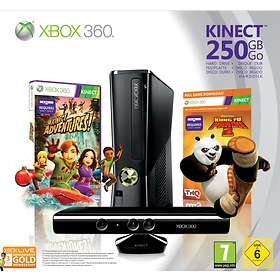 Microsoft Xbox 360 Slim 250GB (incl  Kinect + Kinect Adv  + Kung Fu Panda 2)