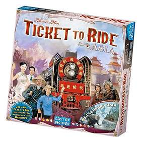 Days of Wonder Ticket to Ride: Asia (exp.)