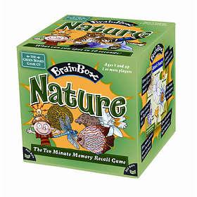 Green Board Games Brainbox: Nature