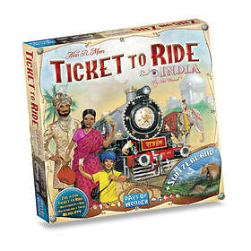 Days of Wonder Ticket to Ride: India (exp.)