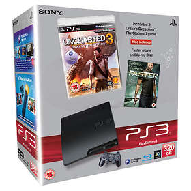 Sony PlayStation 3 Slim 320Go (+ Uncharted 3: Drake's Deception)