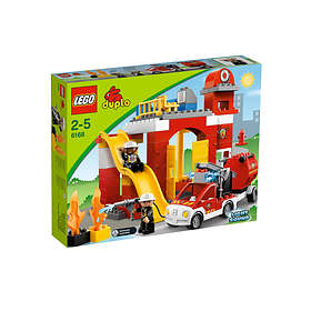LEGO Duplo 6168 La caserne des pompiers