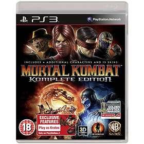 Mortal Kombat - Komplete Edition (PS3)