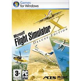 Flight Simulator X - Deluxe Edition