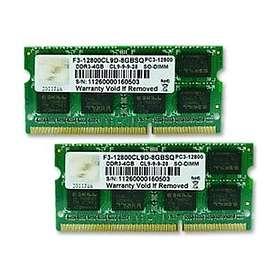 G.Skill SQ SO-DIMM DDR3 1600MHz 2x4GB (F3-12800CL9D-8GBSQ)