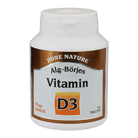 Alg-Börjes D-vitamin D3 150 Tabletter